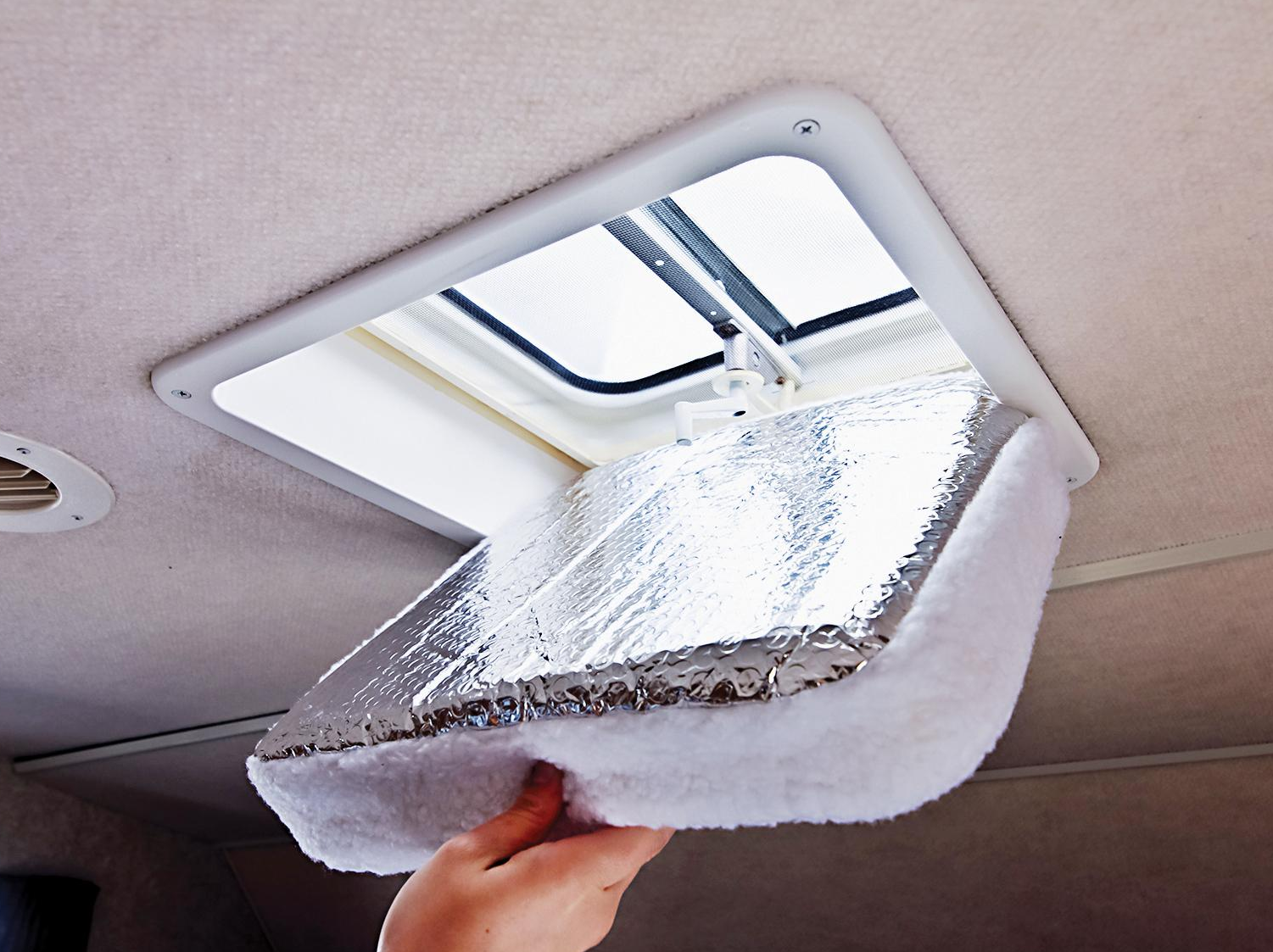 Using Vent Fan Covers To Beat The Rv Heat Rv Chicks