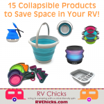 15 Collapsible Items to Save Space in an RV