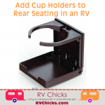 Adding Drink Cup Holders to an RV