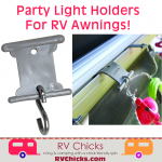 Adding Party Lights to a Motorhome RV Awning Without Damaging It