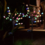 Adding Solar Stake Lights to Your RV Campsite for Safety & Security: Dollar Store RV Finds