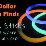 RV Dollar Store Find: Glow Sticks